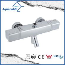 Square Bar Mixer Shower Set Thermostatic Valve with Spout for Bathtub (AF7371-7)
