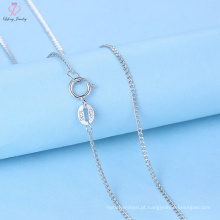 Design de moda estilo 925 corrente de prata esterlina para Womens