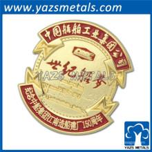 Сделать ваш логотип позолоченный металл сувенирная монета
