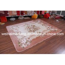 Raschel Mink Polyester Prayer Shaggy Carpet