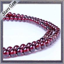 Good Quality Wine Color Natural Garnet Bracelet