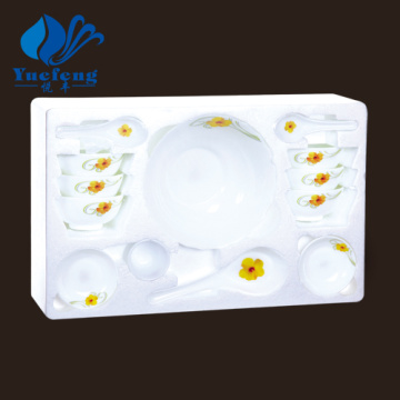 Heat Resistant Opal Glassware-17PCS Soup Set