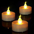 Lampu Kuning Berkedip Led Tealight Candle