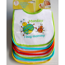 7-pack baby bibs  for a week