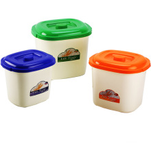 Conteneur de stockage en plastique créatif pour la maison (SLSN050)