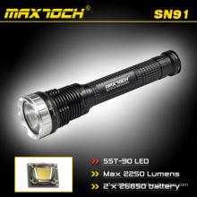 Maxtoch SN91 2250 Lumens 2*26650 Battery Long-range LED Outdoors Hunting Flashlight