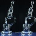 New Creative Design Hookah Tubes en verre Tuyaux à fumée d'eau (ES-GB-044)