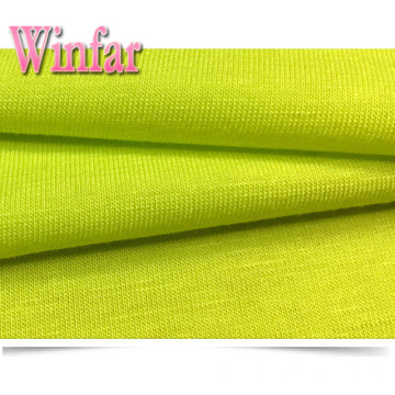 Single Jersey Plain Dye Stretch Polyester Spandex Stoff