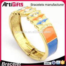 Las señoras de lujo nueva pulsera de oro diseña la pulsera de la joyería