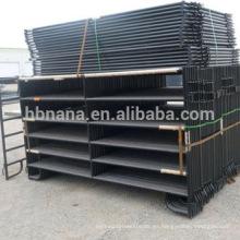 paneles de cercado robados del ganado del compuesto / paneles de la cerca del caballo del metal / paneles del ganado