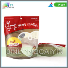Food Packaging for Dog Food with Clear Window