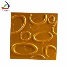 New Design Vacuform Thermoform Plastic 3d Wall Panel