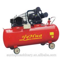 Compressor de ar conduzido correia trifásico elétrico industrial de LeHua com o motor de 5.5kw 7,5 cavalos-força