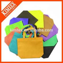 Promotion cotton non woven foldable shopping bag