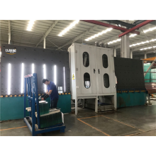 Steel materials vertical glass washing machine