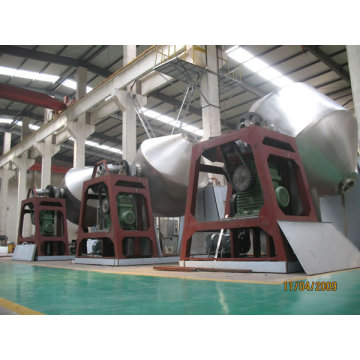 Double Conical Revolving Vacuum Dryer in foodstuff