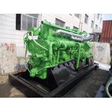 Gás de carvão industrial dos geradores / gerador Lvhuan 400kw do gás do Semi-Coke usado na planta de aço