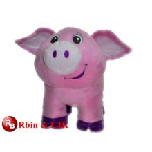 ICTI Audited Factory de alta calidad de promoción personalizada de cerdo de la familia de peluche de juguete