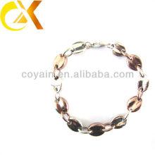 Красивейшие браслеты руки женщин ювелирных изделий нержавеющей стали с золотом плакировкой