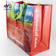 изготовленный на заказ Размер мешки сплетенные PP для промотирования