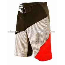 2013 moda 4 way stretch men board shorts calções de praia