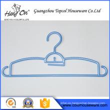 venta caliente modificado para requisitos particulares plástico percha para ropa