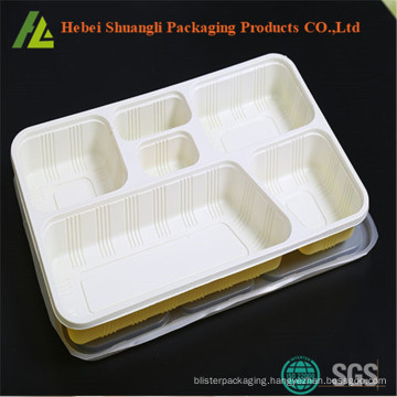 food tray with 6 compartments