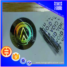 One Time Material 3d  Hologram Sticker