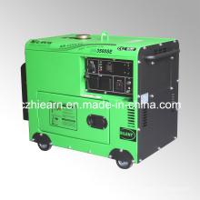 Generador de potencia de motor diesel silencioso portátil 3kw (DG3500SE)