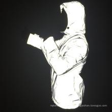 пользовательские светятся в темноте безопасности новые светоотражающие куртка мужская для безопасности