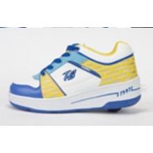 Zapatillas de skate para hombre, Moda Zapatillas de deporte para niños Adultos con botón retráctil oculto para el deporte
