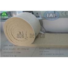 100% Wool fiber padding carbon fiber wool