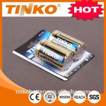 Alta calidad D 1, 5V pila alcalina de tamaño Lr20 seco