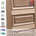 JHK-M03 Outerior Rare Raised Texture European Hotel Brich Wood Simple MDF Door Skin