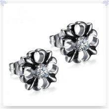 Joyería de la manera joyería cristalina pendiente del acero inoxidable (ee0253)