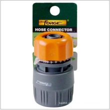 Conector de mangueira de alta qualidade jardim mangueira encaixes ABS plástico jardim