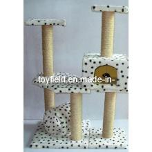 Árvore da casa do gato Produtos do montanhista do animal de estimação Árvore do gato