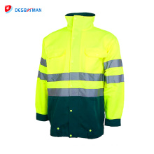 2017 Top Sale best sell reflective safety clothing work jacket