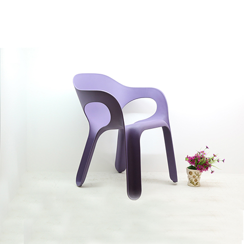 Stacking Plastic Easy Chair