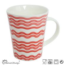 12oz New Bone China Coffee Mug with Decal