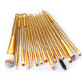 Σετ 15 τεμαχίων Crystal Travel Makeup Brushes