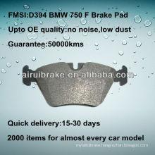 D394 525/530/540/735/740/750/M3/M5/Z3 brake pad