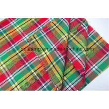 Cheap Wholesale Fashion Checks Yarn Dyed Clothing Fabric