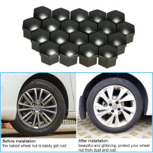 20PCS Plastikauto-Naben-Bolzen-Kappen für Selbstteile