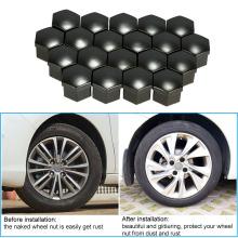 20PCS Plastic Car Hub Bolt Caps for Auto Parts