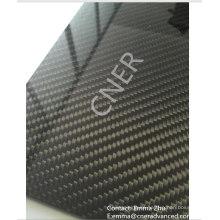 100% 3K-Kohlefaser-Laminatplatte, Kohlefaserplatte Skype: zhuww1025 / WhatsApp (Mobile): + 86-18610239182