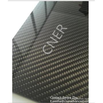 Folha da fibra de carbono de 3K matt / placa / painel com fazer à máquina do cnc Skype: zhuww1025 / WhatsApp (móvel): + 86-18610239182