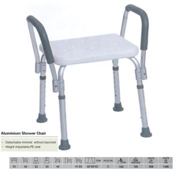 Cadeira de chuveiro padrão