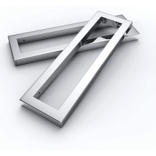 Rectangular Stainless Steel Vanity Support Bracket