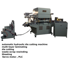Nitrile Rubber Foam Flat-Bed Die Cutting Machine